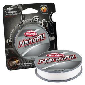 Berkley Nanofil 8 Lb Clear Mist 150 Yd / 137m Uni-Filament Fishing Line