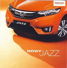 Honda Jazz MY2016  2015 catalogue brochure polonais Poland