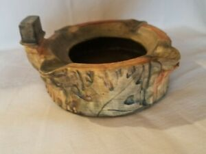 Vintage Weller Woodcraft Ash Tray  Excellent