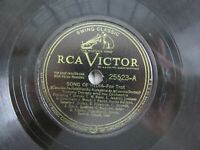 Tommy Dorsey Song of India / Marie 1946 Victor Record 78 V 25523 Jazz Fox Trot