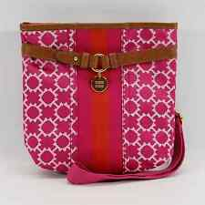 TOMMY HILFIGER AUTHENTIC PINK TH SIGNATURE SMALL CROSSBODY BAG PURSE NWT