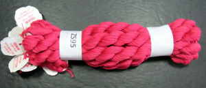 10x Needlepoint/Embroidery THREAD POINT OF IT ALL High Cotton 5ply-Fuschia-ZS95