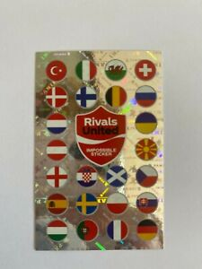 Panini EM 2020 Coca Cola Impossible Sticker - rar - Euro