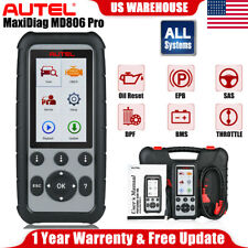 AUTEL MaxiDiag MD806 Pro Automotive Diagnostic Scan Tool As MD808 Pro All System