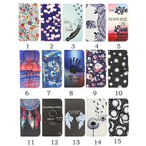 2016 New Luxury Flip Wallet Magnetic Leather Case Cover With Stand For Phones