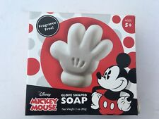 Mickey Mouse Glove Shaped Soap Fragrance Free Vegetable Base Disney Exclusive