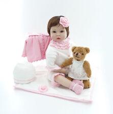 22'' New Handmade Silicone vinyl adora Lifelike toddler Baby Bonecas girl doll