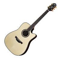 Crafter KDLX-3000 Prestige All Solid Wood Rosewood Dreadnought Acoustic Guitar