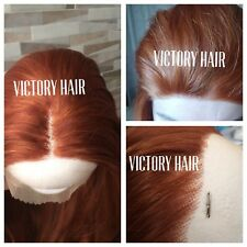 Ginger Copper lace front wig. L'Oréal Love Inspired. Human hair blend.