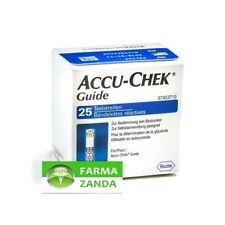 Accu-Chek Guide 25 Strisce Reattive glucosio sangue glicemia SCAD 10/2021
