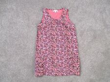 Girls Marks & Spencer Limited coral mix sleeveless long style top age 13 years
