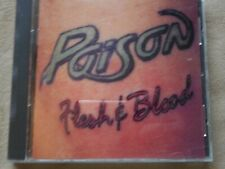 "POISON ""FLESH & BLOOD"" CD VALLEY OF LOST SOULS UNSKINNY BOP SOMETHING TO BELIEVE"