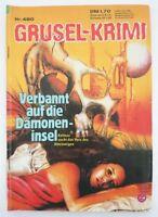 ZAUBERKREIS   (SILBER) GRUSEL-KRIMI   NR 480 (1971-86)   DÄMONENINSEL   Z 1-2