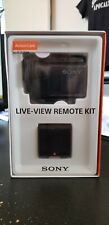 Sony HDR-AS50R/B Full HD Action Cam Camcorder Kit with RM-LVR3 Live-View Remote