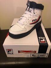FILA FX-100 Size 11 Men's White/Navy/Red