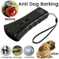 Anti Bark Device Ultrasonic Dog Barking Control Stop Repeller Trainer Tool AU