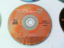 cd n°2 du jeu No one lives forever NOLF 2 PC FR