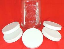 5 - REPLACEMENT LIDS for Golden Harvest Square CANISTER Jars ** FREE SHIPPING**