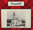 Campbell Scale Models HO Kit #359 - Community Church
