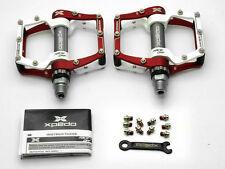 "Rosso/bianco WELLGO Xpedo mx18ac MTB MOUNTAIN BIKE pedali 9/16 "" - 1.42cm"