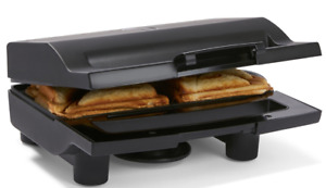 Sandwich Press Maker 2 Slice Deep Dish Grill Non-Stick Jaffle Iron Toastie Maker