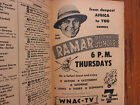 Ma-1956 TV Guide(JON HALL/RAMAR OF THE JUNGLE/JOHNNY WEISSMULLER/SPRING BYINGTON