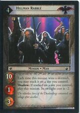 Lord Of The Rings CCG Foil Card TTT 4.U24 Hillman Rabble