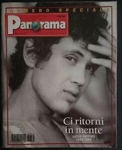 Panorama 1998 n°1692 Speciale Lucio Battisti Bonolis Sliding doors Vincino Allen