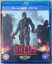 DREDD 3D BLU RAY INCLUDES 2D AND 3D VERSIONS