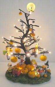 PEANUTS ITS THE GREAT PUMPKIN Illuminated HALLOWEEN Tree Bradford Exchange RARE