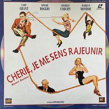 CHERIE, JE ME SENS RAJEUNIR VO ST Nouvelle edition PAL LASERDISC MARILYN MONROE