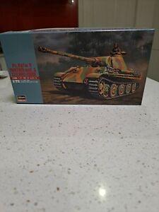 Model War Tank Pz Kpfw V Panther Ausf G Steel Wheel Version