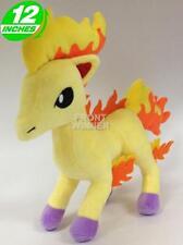 Big 12 inches Pokemon Ponyta Plush Stuffed Doll Soft POPL8175