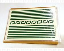 Virnex HO Decals Emerald Green 5/32 Inches Stripe Set 9188