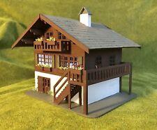 "Dolls house Ski Chalet kit 1/4"" 1/48th scale"