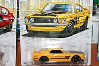 FORD - MUSTANG BOSS 302  - 1969- HOT WHEELS - SCALA 1/55