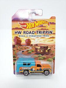 HOT WHEELS HW ROAD TRIPPIN' ROAD 14 TURQUOISE TRAIL BACKWOODS BOMB NEW
