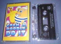 EGGS ON LEGS COCK A DOODLE DO IT cassette tape single