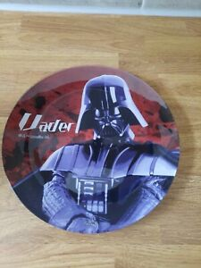 star wars darth vader glass plate
