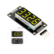 036 Tm1637 7 Segment 4 Bit Tube Led Yellow Display Digital Module For Arduino