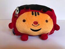 Hannari Tofu Red Plush Stuffed Animal Stuffie cow akabeko