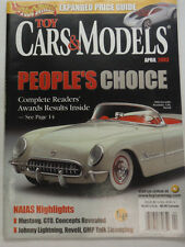 Toy Cars & Models Magazine 1953 Corvette Naias Highlights April 2003 051615R