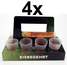Jägermeister Becher Shotglas Schnapsglas mit Papp Halter - 2/4cl geeicht Aktion