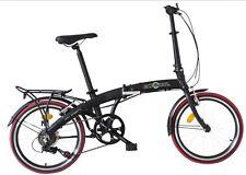 """Ecosmo 20"""" Wheel Lightweight Alloy Folding Bicycle Bike 7 SP 12kg - 20AF09BL"""