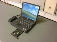 Vintage Dell Latitude C610 Laptop 1.0GHz Pent 3 1.0 GB RAM 20GB HDD WIN XP/2007