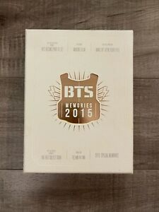 BTS OFFICIAL MERCH BTS MEMORIES OF 2015 DVD FULL SET PRE-OWNED