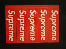MULTIPACK OF SUPREME 4 RED BOGO STICKER