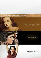 All About Eve & Cleopatra & Norma Rae, New Dvd, ,