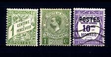 MONACO - 1904/1925 - Segnatasse