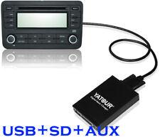 Car USB SD AUX  MP3 Integration Kit For BMW 40-Pin Flat E39 E38 E46 X3 X5 Z4 R5X